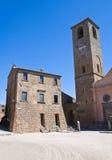 Alleyway. Civita di Bagnoregio. Il Lazio. L'Italia. Immagini Stock Libere da Diritti