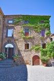 Alleyway. Civita di Bagnoregio. Lazio. Italy. Stock Photos