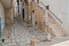alleyway Conversano La Puglia L'Italia Immagini Stock