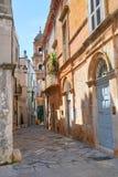 alleyway Conversano La Puglia L'Italia Fotografie Stock Libere da Diritti