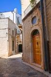 Alleyway. Conversano. Puglia. Italy. Royalty Free Stock Photos