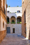 Alleyway. Conversano. Puglia. Italy. Stock Images