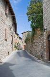 Alleyway. Corciano. L'Umbria. Immagine Stock Libera da Diritti