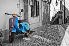 Alleyway. Deliceto. Puglia. Italy. Royalty Free Stock Images