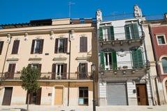 alleyway Delle Fonti di Acquaviva La Puglia L'Italia Fotografia Stock