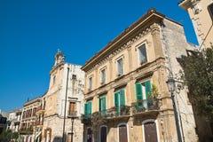 alleyway Delle Fonti di Acquaviva La Puglia L'Italia Fotografia Stock Libera da Diritti