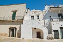 alleyway Di Bari di Sammichele La Puglia L'Italia Immagini Stock Libere da Diritti