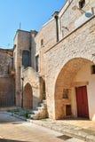 alleyway Di Bari di Sammichele La Puglia L'Italia Fotografia Stock Libera da Diritti