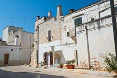 alleyway Di Bari di Sammichele La Puglia L'Italia Immagine Stock Libera da Diritti
