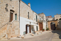 alleyway Di Bari di Sammichele La Puglia L'Italia Immagine Stock