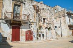 alleyway Di Bari di Sammichele La Puglia L'Italia Immagini Stock