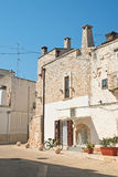 alleyway Di Bari di Sammichele La Puglia L'Italia Fotografia Stock
