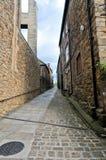 Alleyway di Durham Fotografie Stock