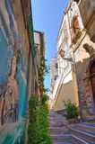 Alleyway. Diamante. Calabria. Italy. Stock Photos