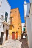alleyway Fasano La Puglia L'Italia Fotografie Stock