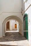 alleyway Fasano La Puglia L'Italia Fotografia Stock Libera da Diritti