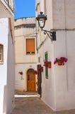 alleyway Fasano La Puglia L'Italia Immagini Stock