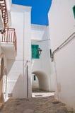 alleyway Fasano La Puglia L'Italia Immagine Stock