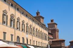 Alleyway. Ferrara. Emilia-Romagna. Italy. Stock Image