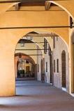 Alleyway. Ferrara. L'Emilia Romagna. L'Italia. Immagini Stock