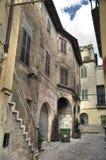 Alleyway. Foligno. Umbria. Stock Photos