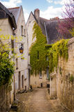 Alleyway in France royalty free stock photo