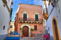 Free Alleyway. Gallipoli. Puglia. Italy. Stock Image - 28777151