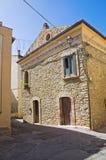 Alleyway. Genzano di Lucania. Italy. Royalty Free Stock Image