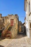 Alleyway. Genzano di Lucania. Italy. Royalty Free Stock Photo