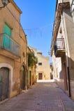 Alleyway. Genzano di Lucania. Italy. Royalty Free Stock Photos