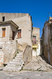 Alleyway. Genzano di Lucania. Italy. Stock Photos