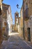alleyway Genzano di Lucania L'Italia Fotografia Stock Libera da Diritti