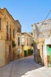 alleyway Genzano di Lucania L'Italia Fotografie Stock