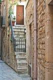 alleyway Giovinazzo La Puglia L'Italia Fotografia Stock