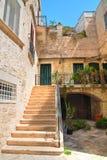 alleyway Giovinazzo La Puglia L'Italia Fotografia Stock Libera da Diritti