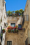 Alleyway. Giovinazzo. Puglia. Italy. Royalty Free Stock Photos