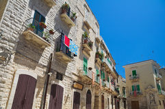 Alleyway. Giovinazzo. Puglia. Italy. Royalty Free Stock Photography