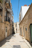 Alleyway. Giovinazzo. Puglia. Italy. Royalty Free Stock Images