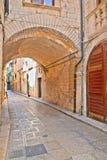 alleyway Giovinazzo Puglia Italy Fotografia de Stock