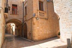 alleyway Giovinazzo Puglia Italy Fotos de Stock