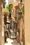 Alleyway in Greek City Stock Photos