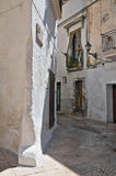 Alleyway. Grottaglie. Puglia. Italy. Perspective of an alleyway of Grottaglie. Puglia. Italy Royalty Free Stock Photo