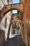 Alleyway. Grottaglie. Puglia. Italy. Royalty Free Stock Photos
