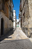 Alleyway. Grottaglie. Puglia. Italy. Stock Photo