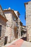 alleyway Guardia Perticara Basilicata Italië Royalty-vrije Stock Fotografie