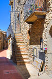 alleyway Guardia Perticara Basilicata Italia Imágenes de archivo libres de regalías