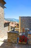 alleyway Guardia Perticara Basilicata Italia Imagen de archivo libre de regalías