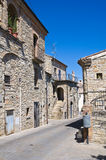 Alleyway. Guardia Perticara. Basilicata. Italy. Stock Images