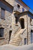 Alleyway. Guardia Perticara. Basilicata. Italy. Stock Photos