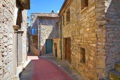 alleyway Guardia Perticara La Basilicata L'Italia Fotografia Stock